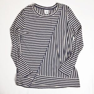 CAbi Long Sleeve Ernest Striped Tee